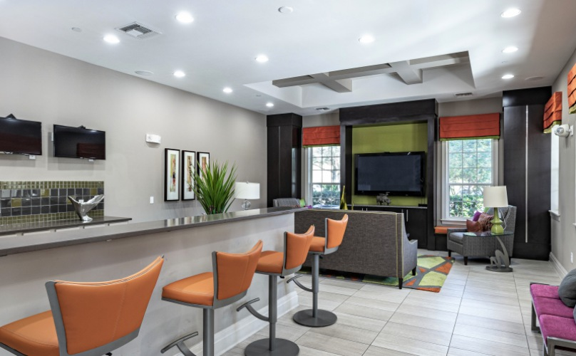 Clubhouse at Cumberland Park Apartments in Orlando, Florida